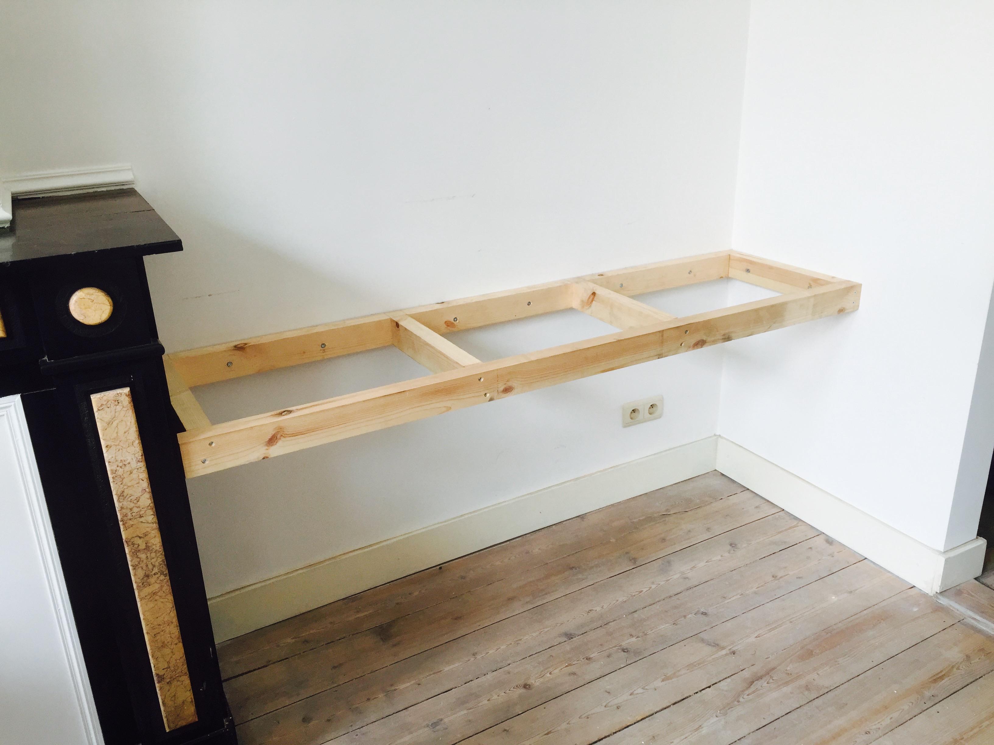 Zwevende Plank Met Lades.Zwevende Wandplank Trendy Hoe Je Eenvoudige Zwevende Planken Te